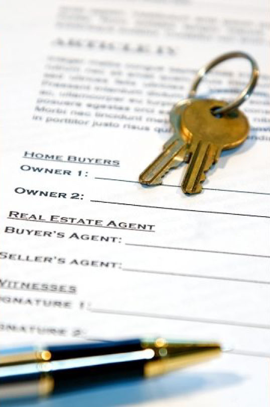 Paperwork for Real Estate Sale or Purchase